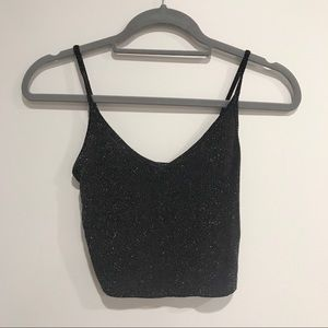NWT Forever 21 Glitter Top